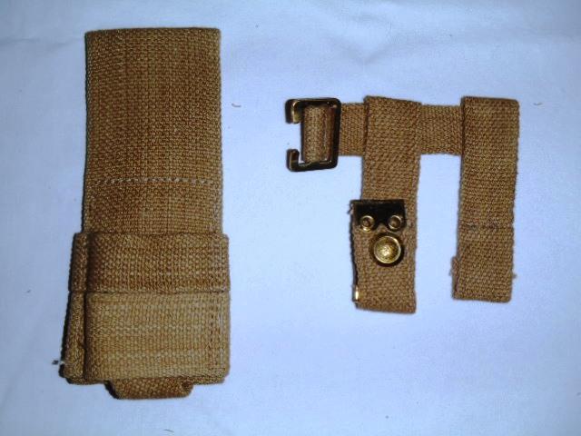 British Wwi Pattern 1908 Complete Webbing Equipment Set